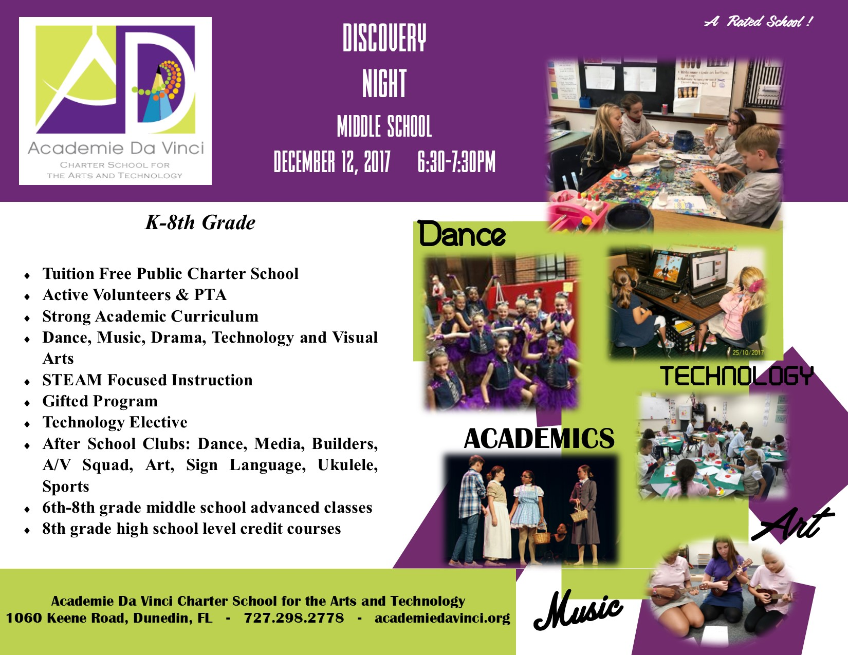 Middle School Discovery Night